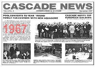 CASCADE NEWSLETTER ENGLAND-EUROPE 1967 KARRY OGDEN GENERAL MANAGER