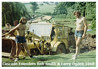 Robert Rankin Smith and Laurence Edward (Larry) Ogden, England 1968