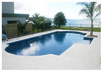 BEACHFRONT DOUBLE ROMAN END 5 X 10 POOL