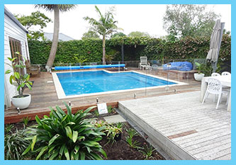 NICE SMALL CITY SITE FOR A RELAXING POOL AREA PONSONBY AUCKLAND