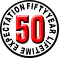 50 YEAR LIFETIME EXPECTATION